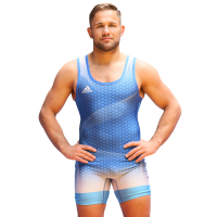 adidas Takedown '18 Singlet Men blue