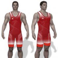 adidas Takedown '18 Singlet Men red